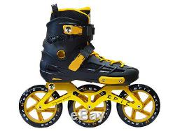NO BOX Epic Engage 125mm Indoor/Outdoor Inline Skates Size 6