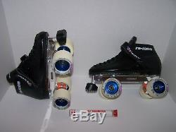 New Riedell 125 Labeda Pro-line Custom Leather Roller Skates Men's 6 (ladies 7)