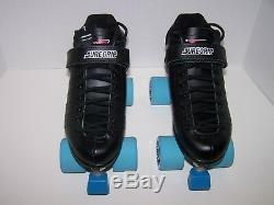 New Sure-grip Xl-75 Custom Leather Roller Skates Mens Size 9