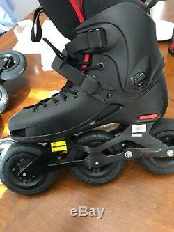 Power slide SUV Skates Size 10 US With Extra Tires And Tubes! Great Deal