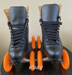 QUADLINE Riedell ROLLER SKATES Scooter Wheels Size 11