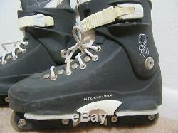 Razors Stockwell Aggressive Inline Skates Roller Blades Size 12 Gray L@@K