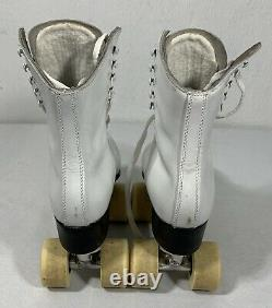 Riedell Vintage Women's Roller Skates 2 Sure Grip Classic With Case