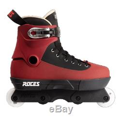 Roces 5th Element UFS Aggressive Inline Skates Complete Maroon