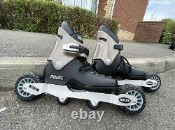 Roces Big Cats Size UK9 Off Road Rare Inline Aggressive Skates Used Free P&P
