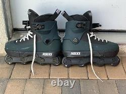 Roces fifth element Yuto Gotu pro skate complete with GC Mega frames size 10