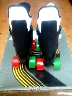Roces quad roller skates. New. Genuine old school, Jump Bars. Like Bauers. Size 30