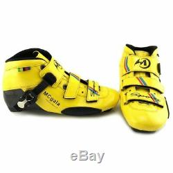 Roller Skating Shoes Racing Patines Glass Fiber Boots Professional Speed Inline