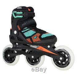Rollerblade Macroblade 110 3Wd Black/Emerald Womens Inline Skates Size 5M
