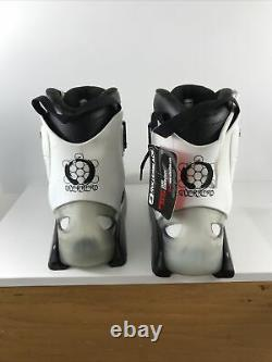 Rollerblade Solo blades Skates Aggressive Inline Guerrero Clear Boot UFS US 9.5