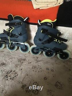 Rollerblade Twister Edge Unisex Adult Inline Fitness Skate 110 3WD Size 8.5