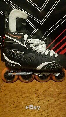 Tour Fb-325 Roller Hockey Inline Skates Blades Mens 9 Near Perfect Condition