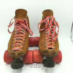 Vtg Riedell 65X IFO Size 8 Invader Force One Roller Skates RC Sports Sunlite